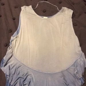 Free People Flowy Muscle Tank NWOT